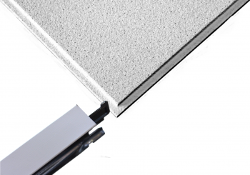 £11.00 per m2 for Sandtone Tegular Ceiling Tiles and White Grid