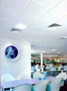 Suspended Ceiling for Food Hall