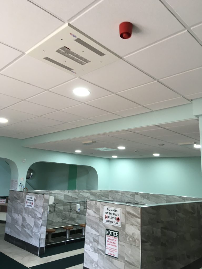 A New Suspended Ceiling in a House of Worship